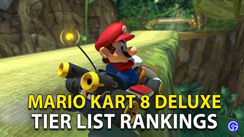 Mario Kart 8 Deluxe Tier List Character Rankings