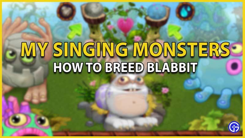 my singing monsters blabbit