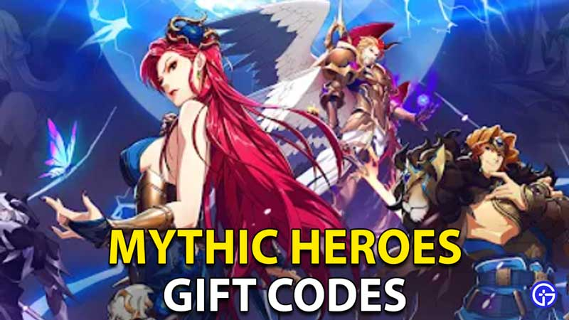 Mythic Heroes Gift Codes