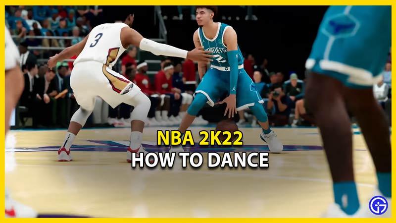 nba 2k22 how to dance