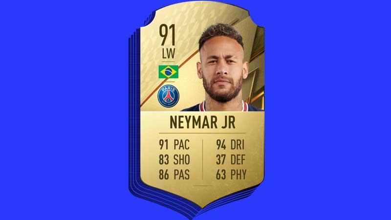 neymar psg fifa 22