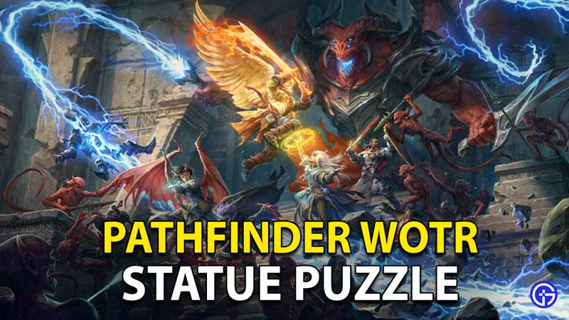 Pathfinder: Wrath Of The Righteous Statue Puzzle Gray Garrison Solution