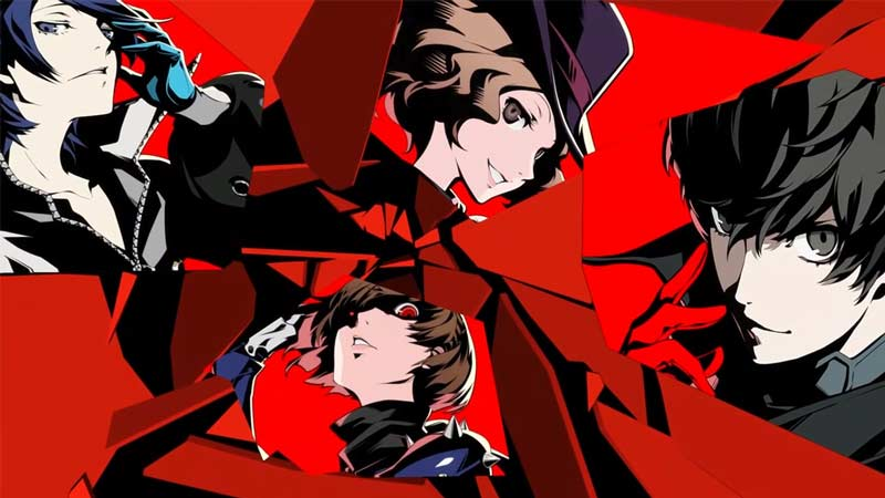 best anime games ps4 persona 5