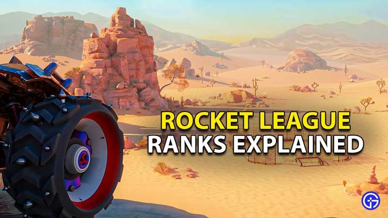 ranks rocket league mmr ranking