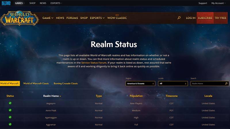 realm status