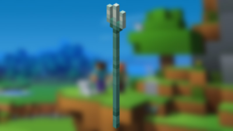 Minecraft Riptide Enchantment For Trident