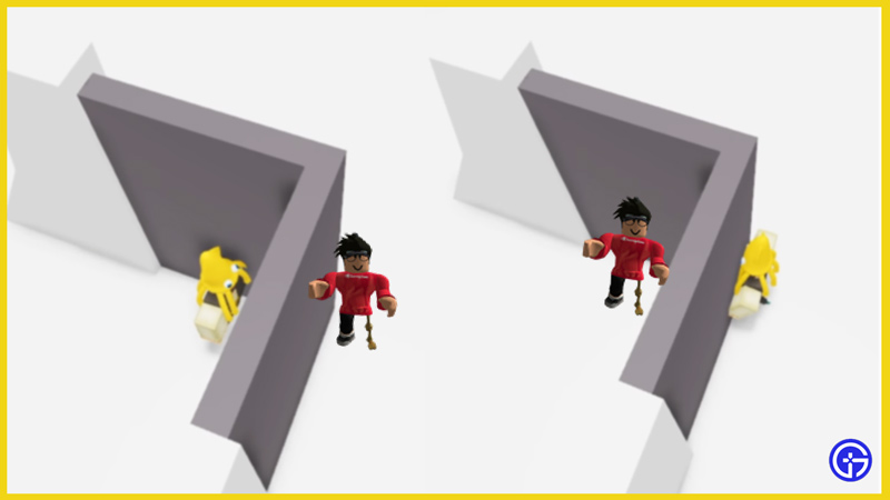 roblox corner glitch