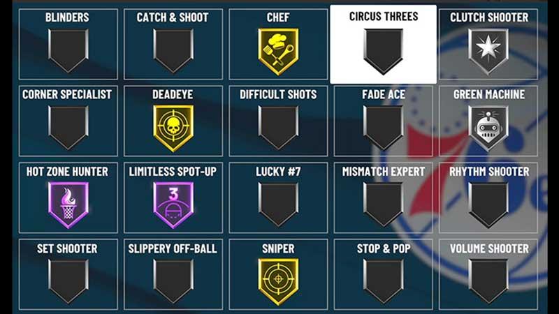shooting badges