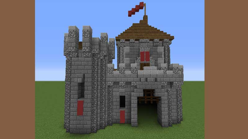 small tower castle