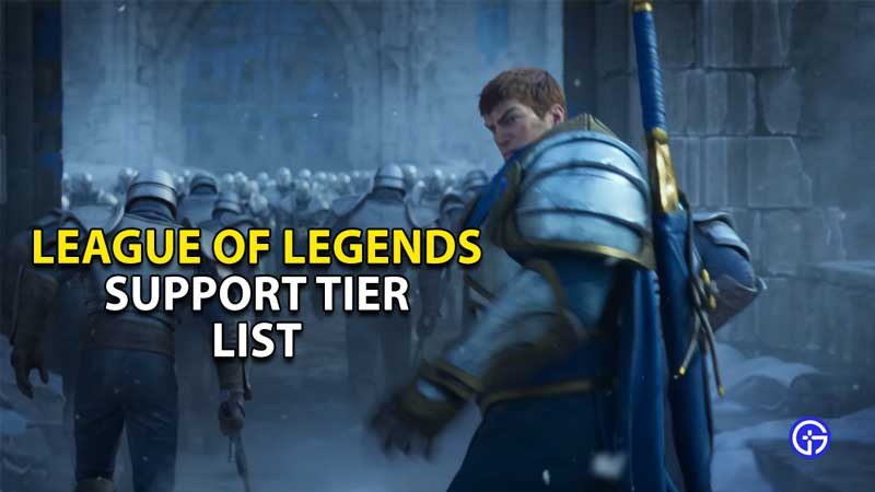 support tier list league of legends