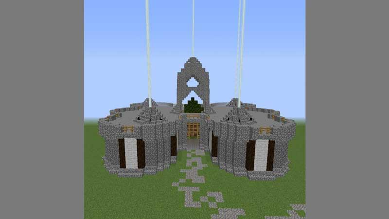 throne hall castle minecraft