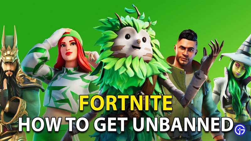 How To Get Unbanned On Fortnite: IP Ban, Account Ban And More