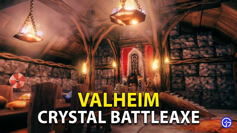 Valheim Crystal Battleaxe: How To Get Crystal Shards And Craft Axe