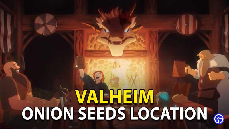 Valheim Onion Seeds: Hearth & Home Update Onion Crafting Recipes