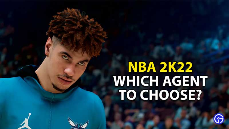 which agent to pick nba 2k22