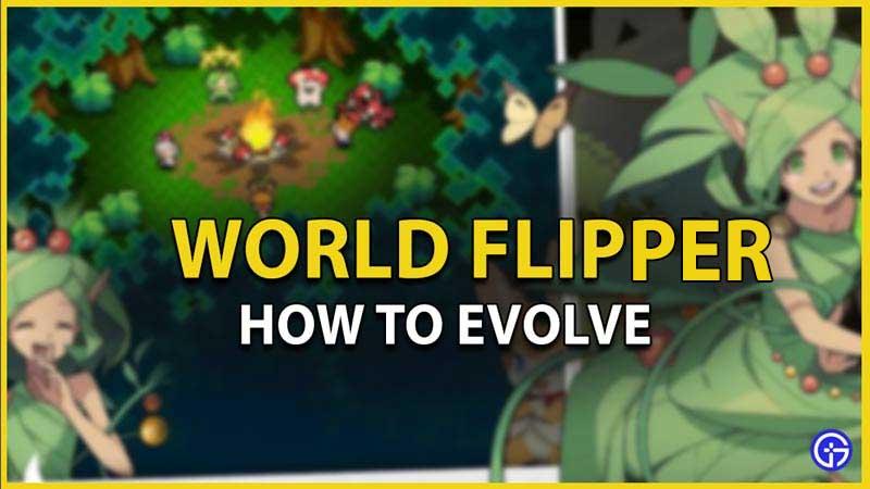 world flipper how to evolve