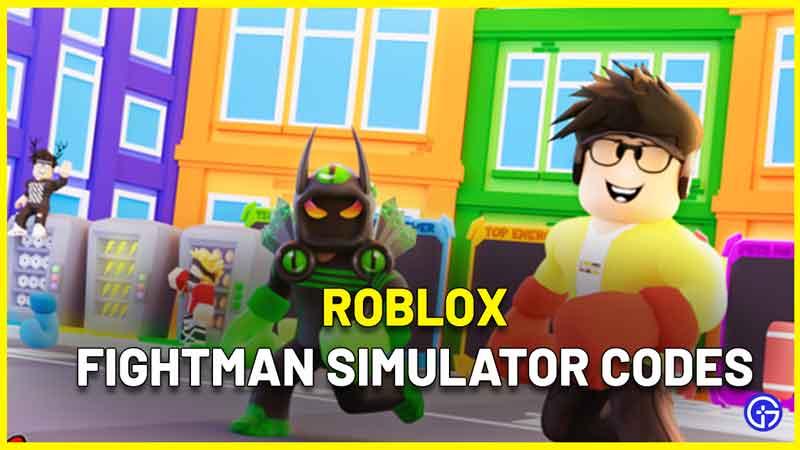Roblox Fightman Simulator codes