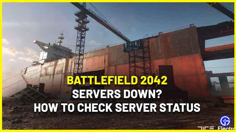 battlefield 2042 servers down