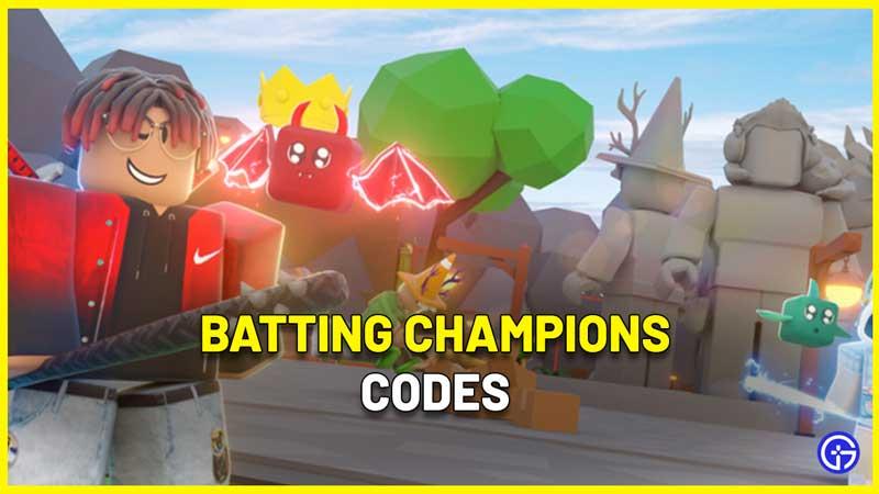 Batting Champions Codes