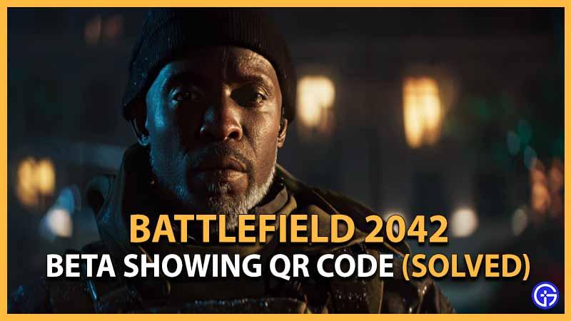 Battlefield 2042 Open Beta QR Code how to use Scanner