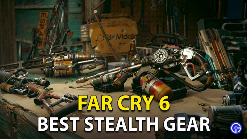 Far Cry 6 Best Stealth Gear: Weapons, Armor Sets, And More