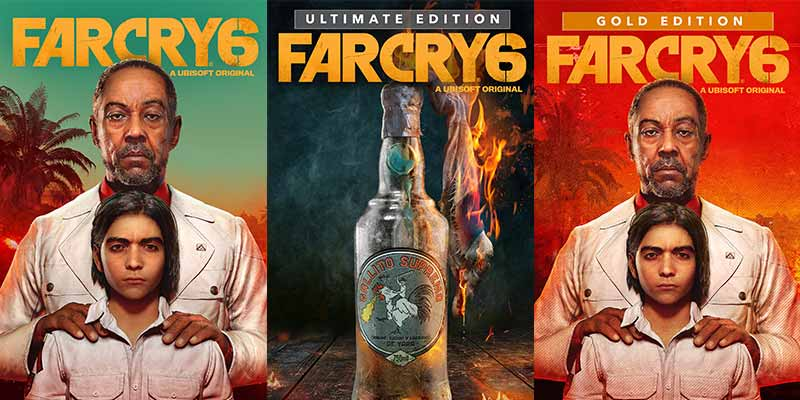 Far Cry 6 Gold vs Ultimate vs Collector's Editions