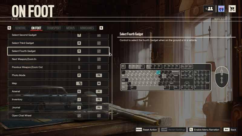 Far Cry 6 PC Controls & Key Bindings