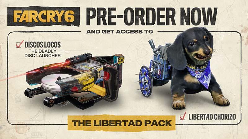 Far Cry 6 Pre Order Bonus
