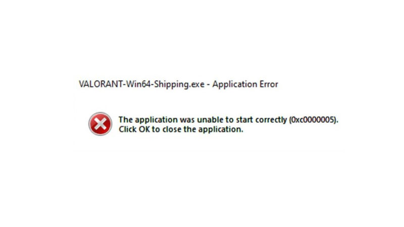 How to Fix Valorant win64 Shipping Application Error