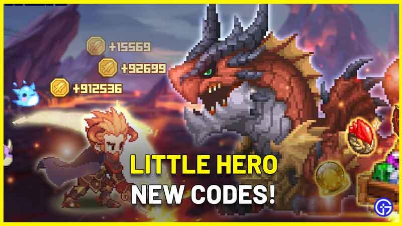 Little Hero Codes