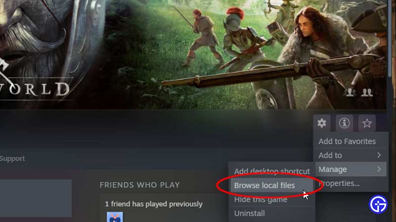 EAC New World Steam Error Fix