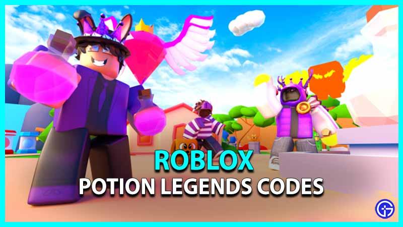 Potion Legends Codes