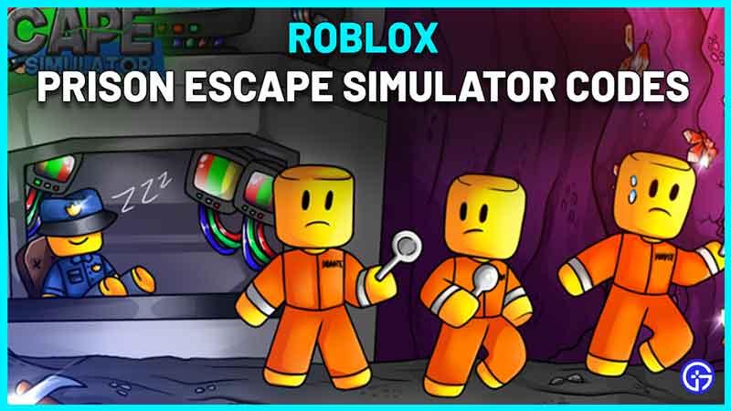 Roblox Prison Escape Simulator Codes