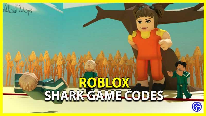 Roblox Shark Game Codes