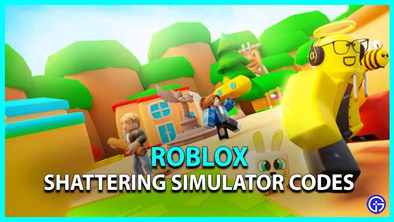 Shattering Simulator Codes