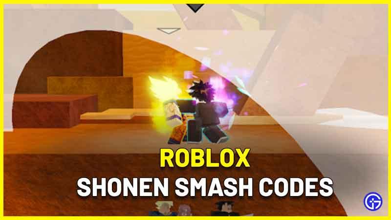 Shonen Smash Codes Roblox