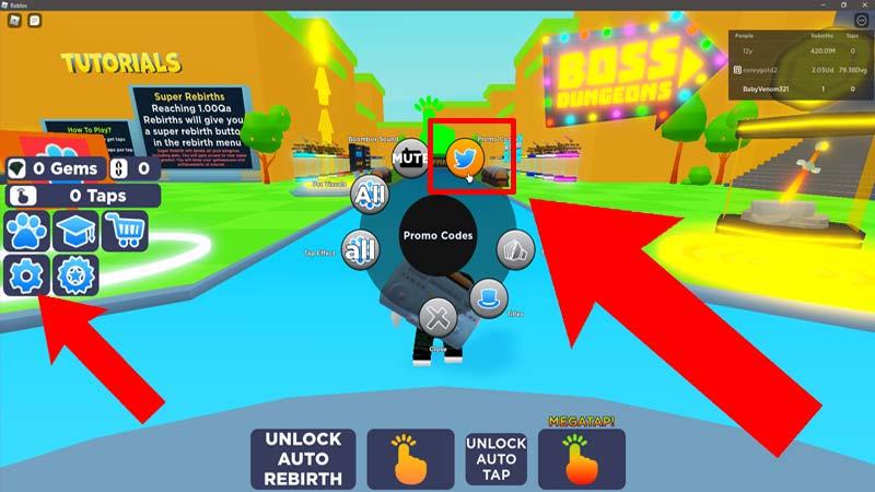 Tapping Simulator Codes Redeem Free Rewards