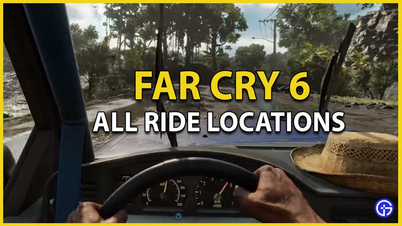 all ride locations