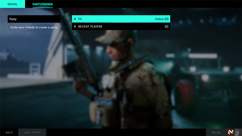 how to add and play with friends in battlefield 2042