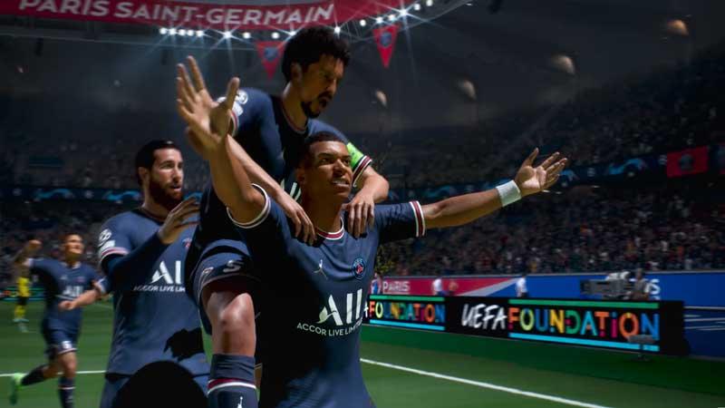 celebrate fifa 22 club player signature