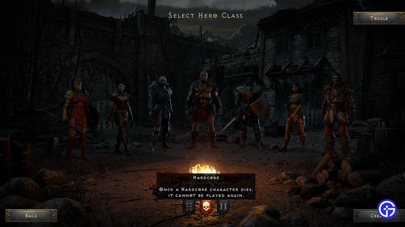 d2r hero class beginner