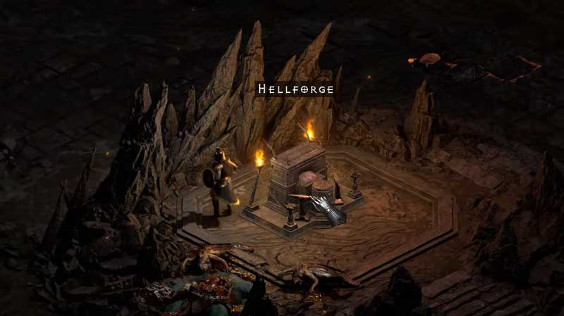 Diablo 2 Resurrected Hellforge Location: Where To Find In Act 4 Quest 2