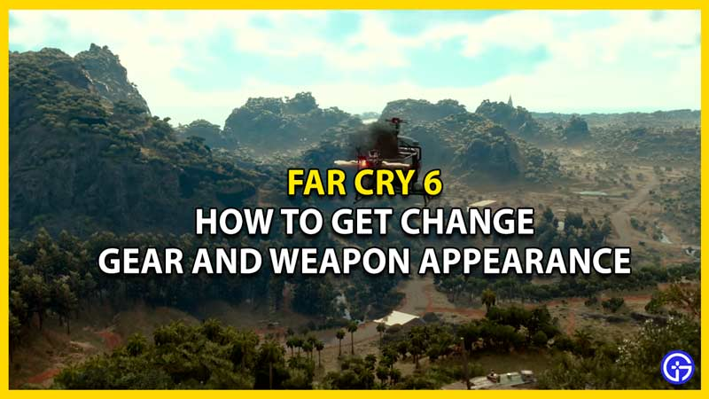 how to transmog gears and weapons in far cry 6
