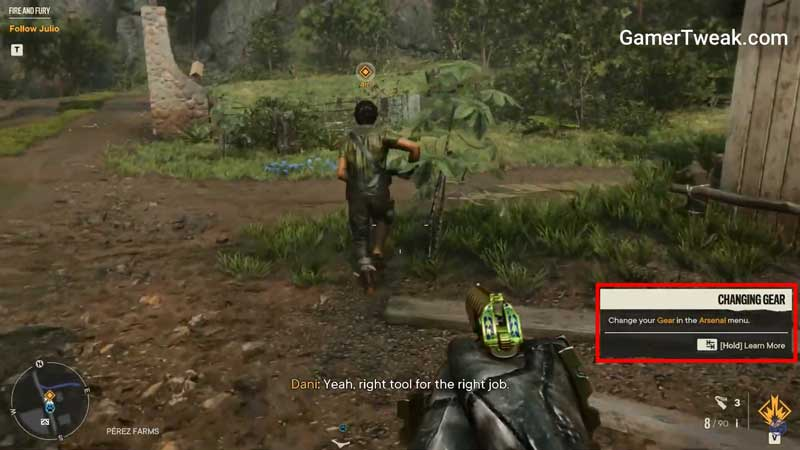Far Cry 6 Change Weapons: How To Change & Equip Arsenal Equipment