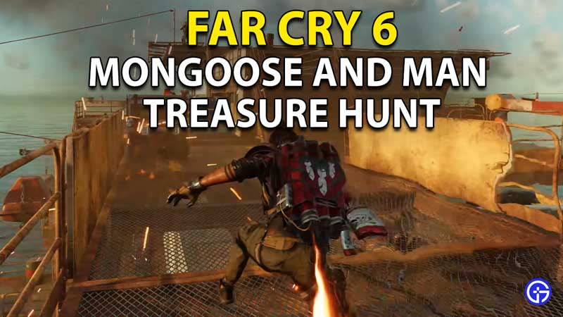 Far Cry 6 The Mongoose And The Man Treasure Hunt: Lethal Dose Pistol