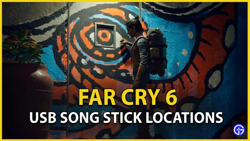 far cry 6 usb song stick locations all