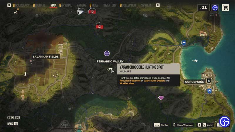fernando valley croc hunt