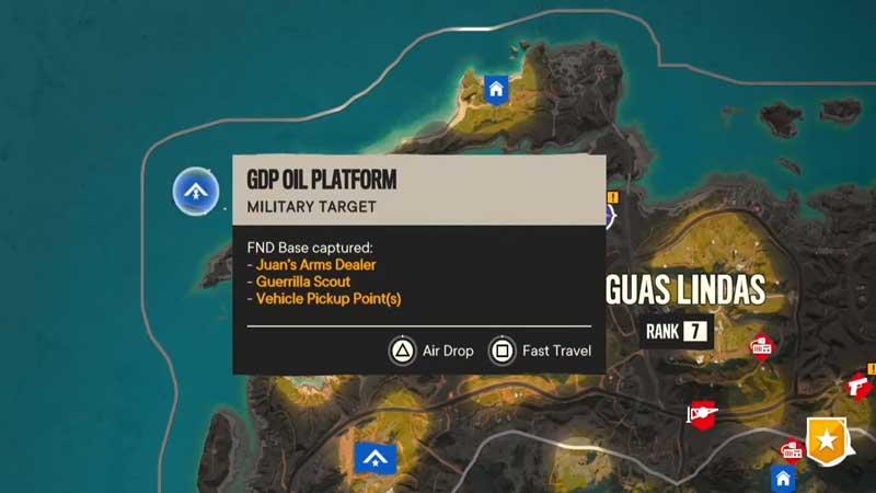 gdp oil platform location map fc6