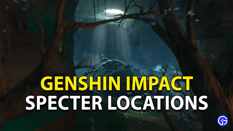 Genshin Impact Specter Locations: Spectral Husks, Hearts And Nucleus