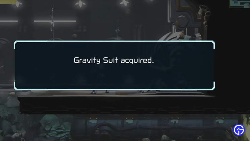 gravity suit acquired